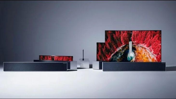 televisor enrollable de LG de 87 mil dolares