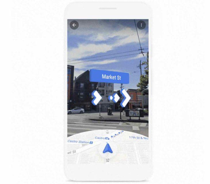 Live View de Google Maps