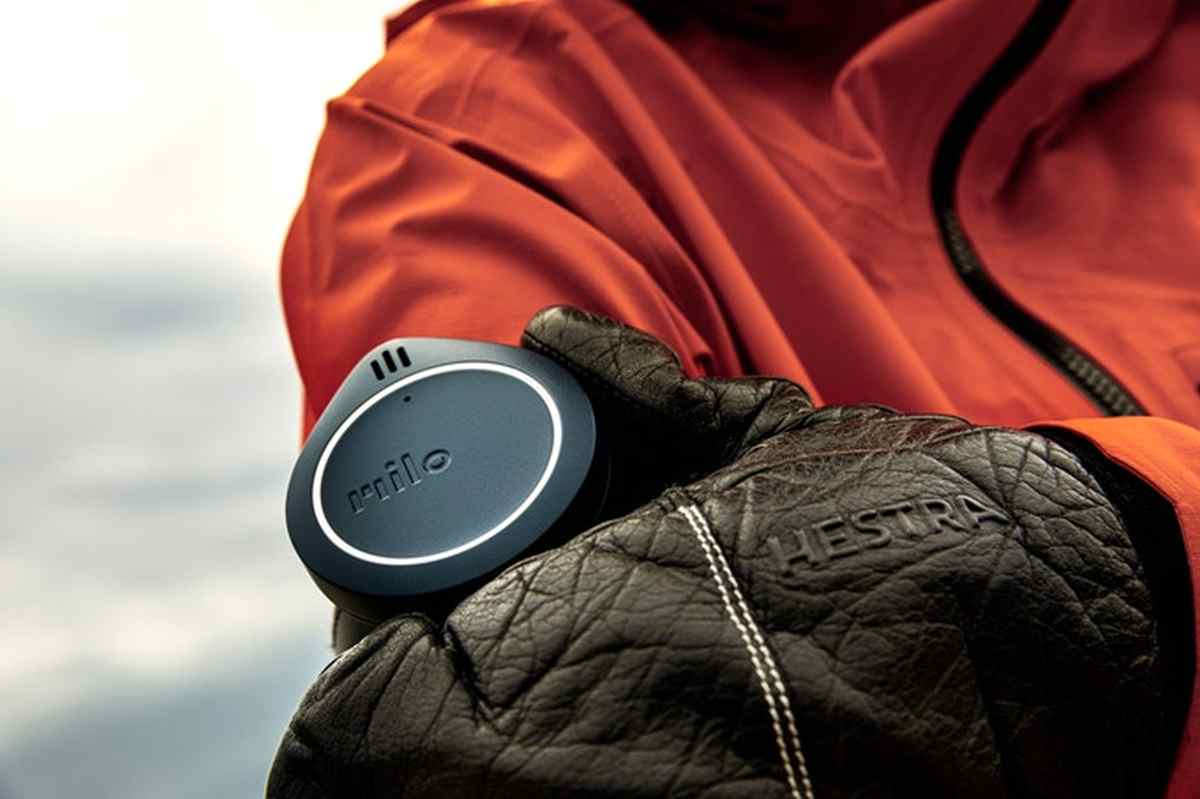 Milo, un dispositivo de comunicación manos libres para deportes de aventura
