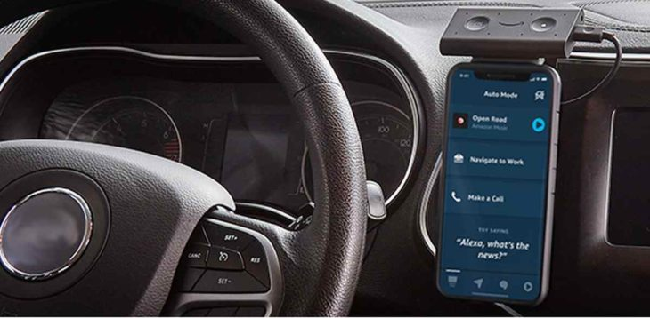 Modo Auto de Alexa
