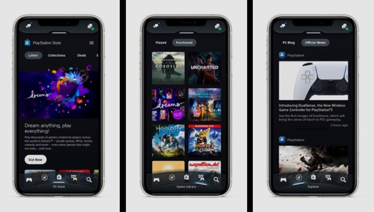 La nueva app de PlayStation llega con muchísimas novedades en iOS y Android