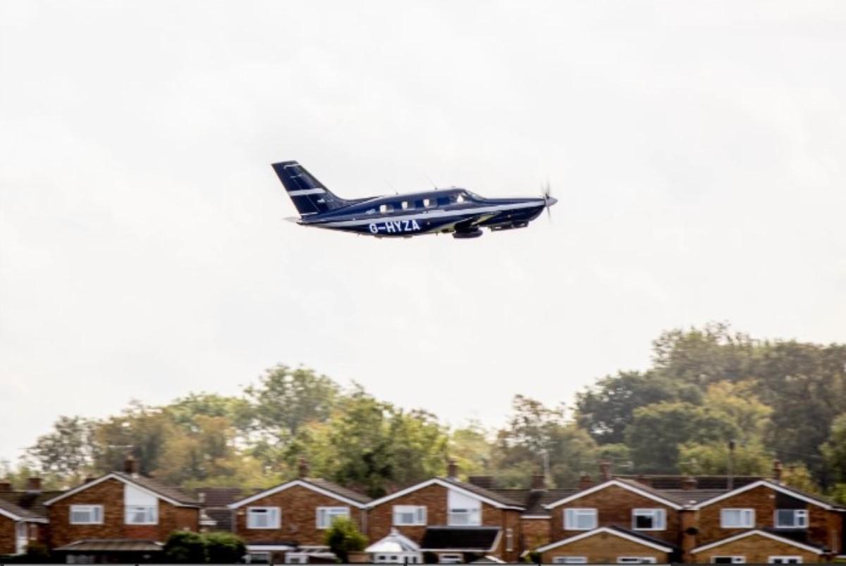 Piper M, el avión propulsado por hidrógeno mas grande del mundo, realizó su primer vuelo