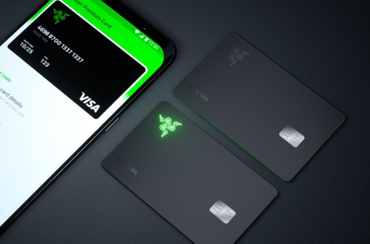 Razer diseña tarjeta de crédito que enciende su logo al momento de pagar una compra