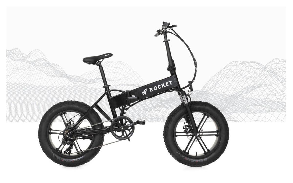 bicicleta electrica plegable rocket ebike