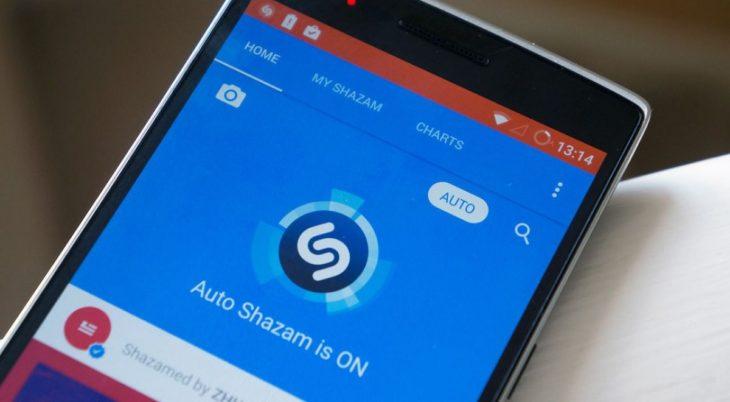 Shazam reconocer música mas rápido