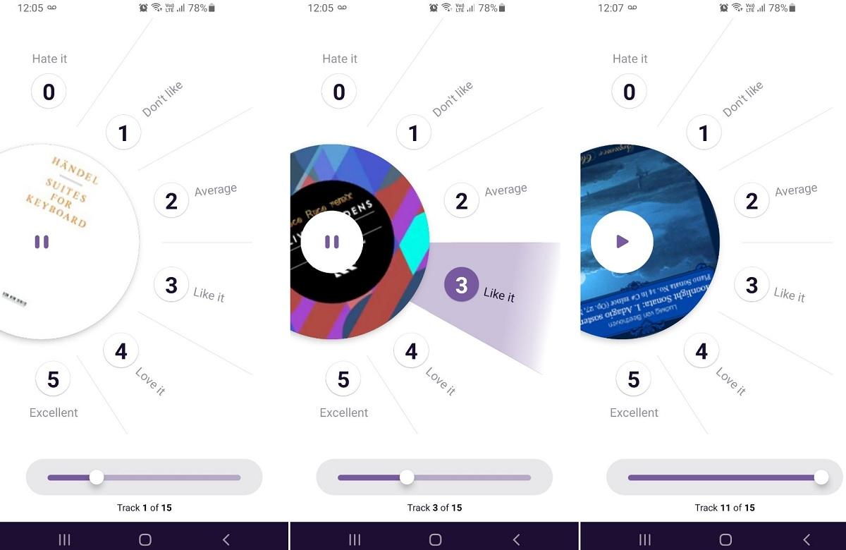 Sounders Music app captura
