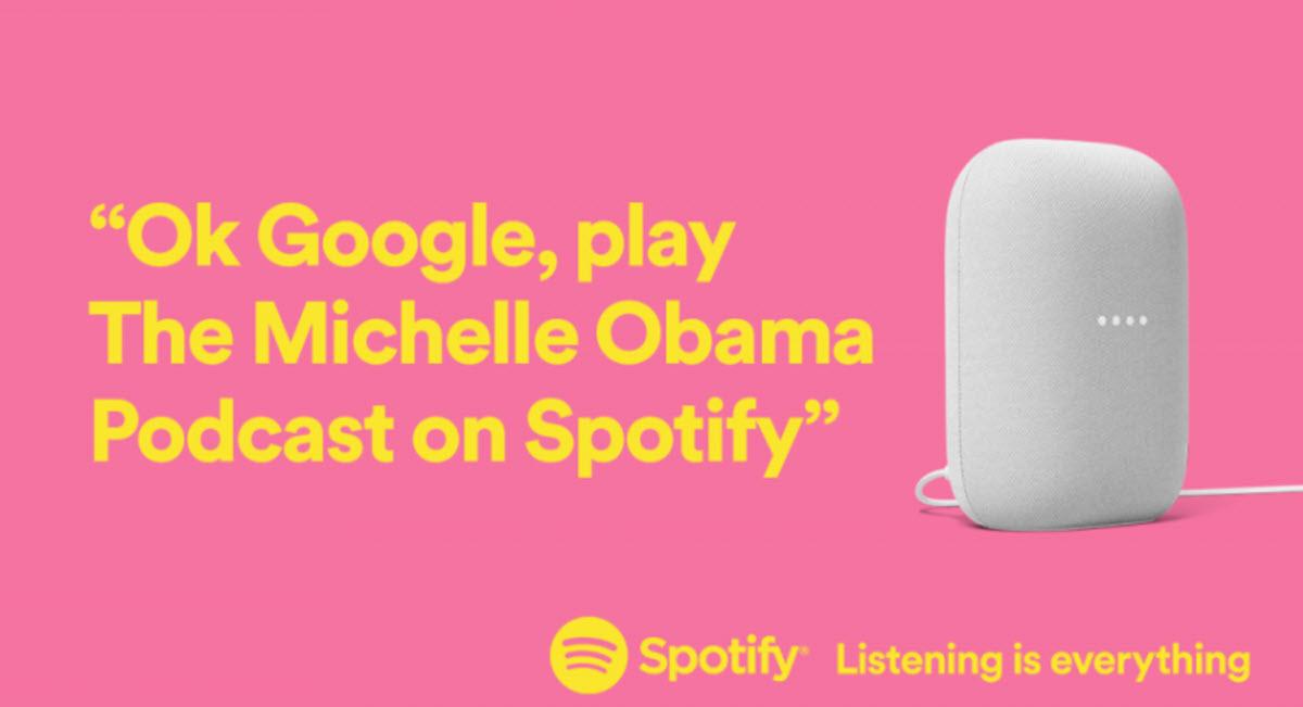 Ya puedes usar el Asistente de Google para reproducir podcasts de Spotify en tus dispositivos