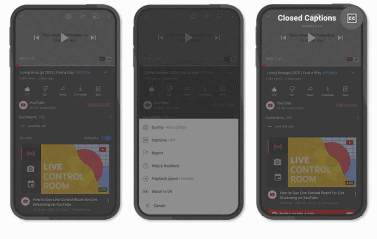 YouTube optimiza su reproductor e introduce nuevas funciones en Android e iOS