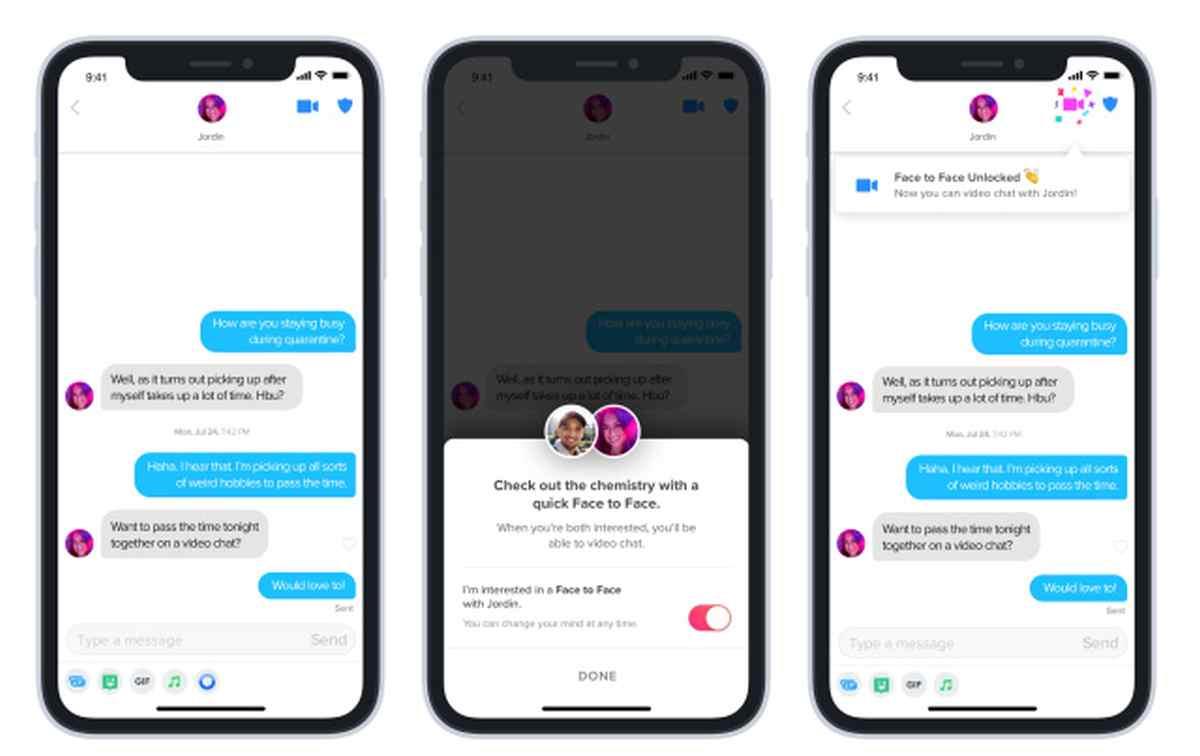 Tinder hace oficial su nueva función de videollamadas, expandiéndola a nivel global