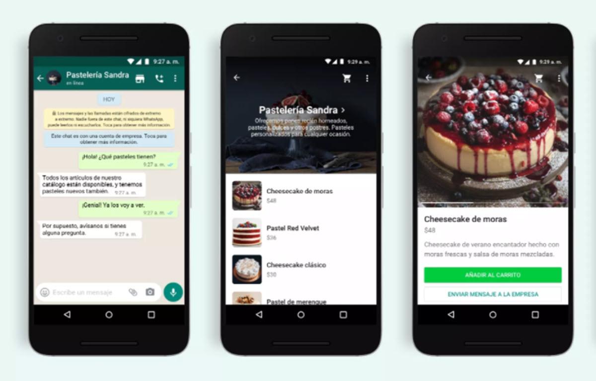 WhatsApp te permitirá comprar directamente desde los chats