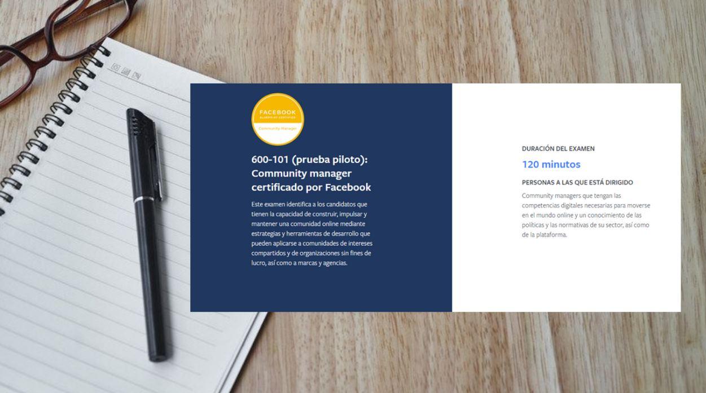 Curso gratis oficial de Facebook para ser Community Manager