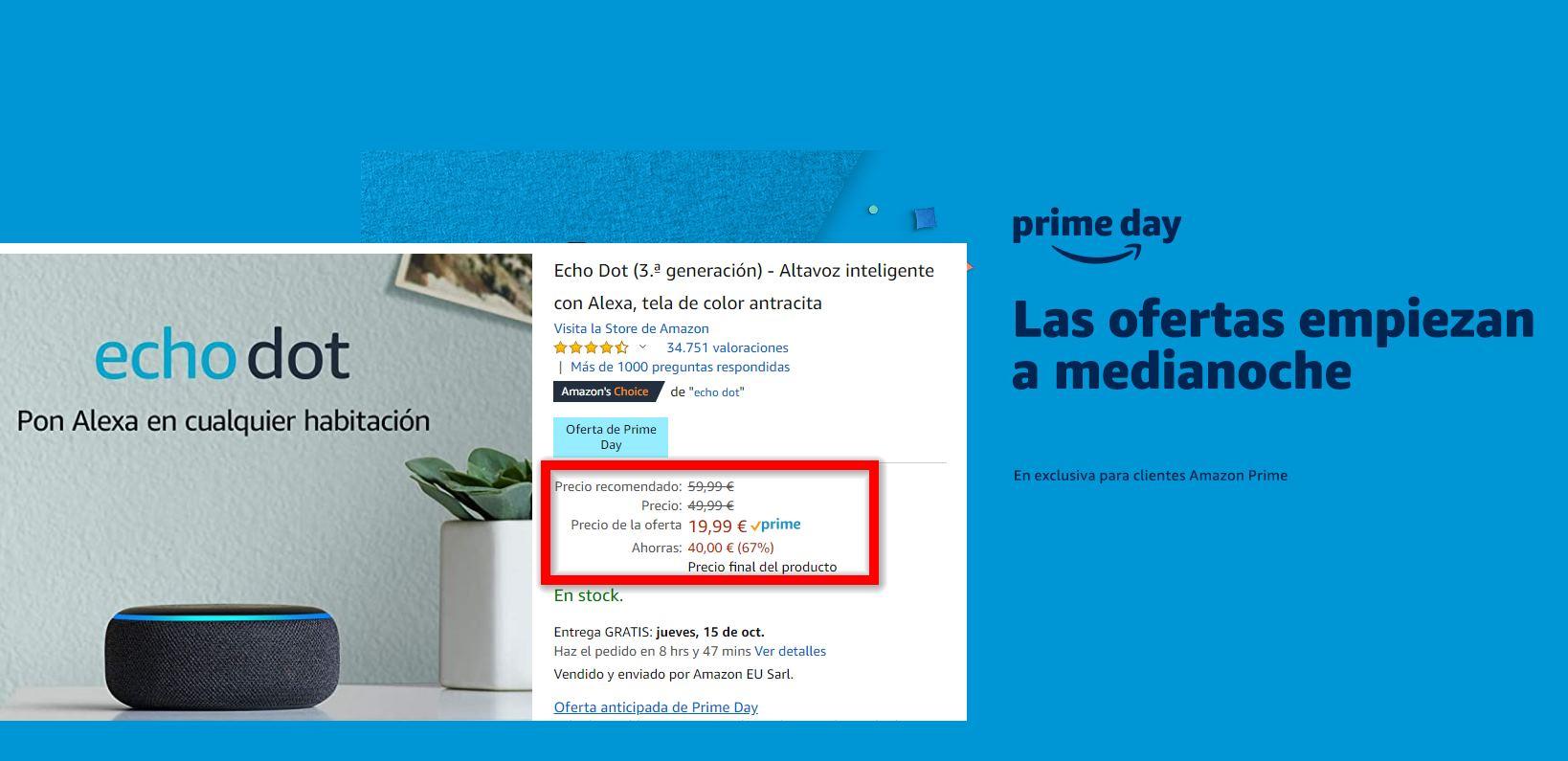 Amazon Prime Day, dos días de ofertas para volver loco al consumidor