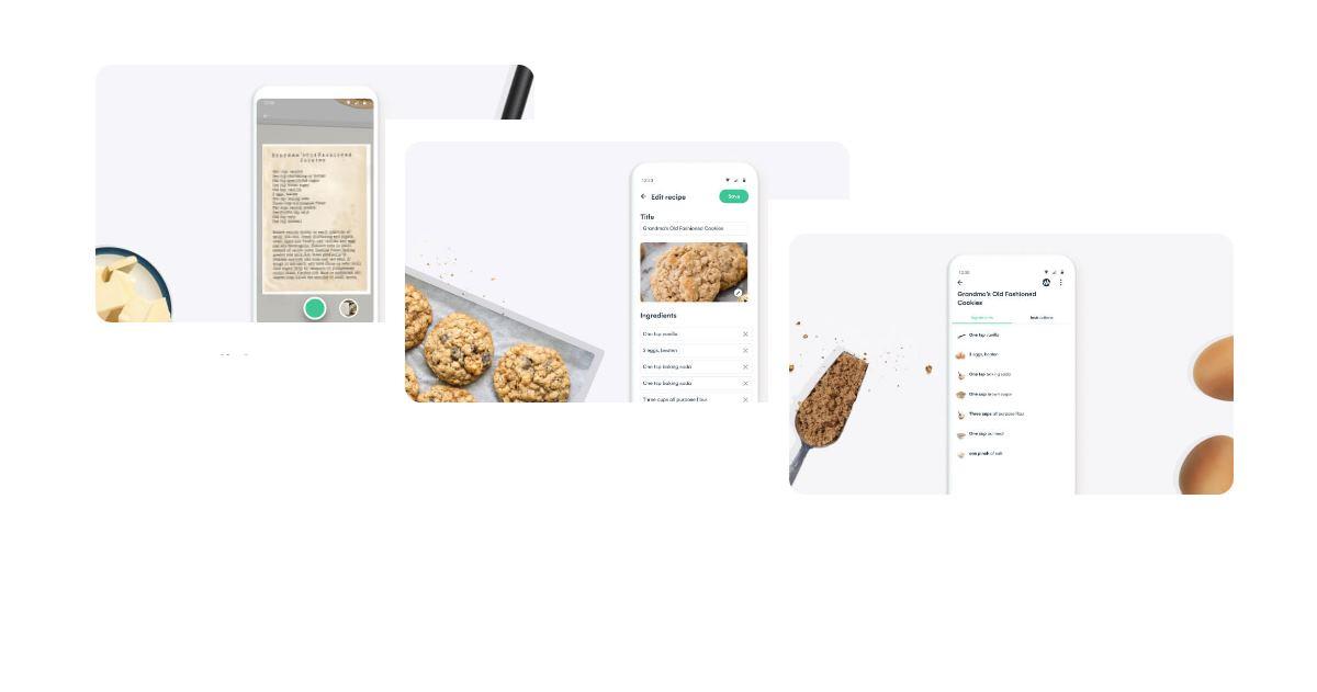 Una app para escanear recetas escritas a mano