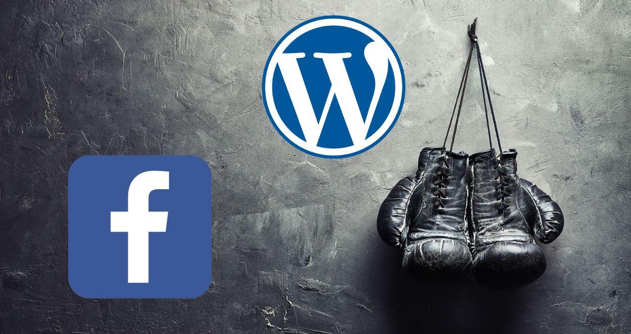 Facebook e Instagram no podrán incrustarse en WordPress como hasta ahora