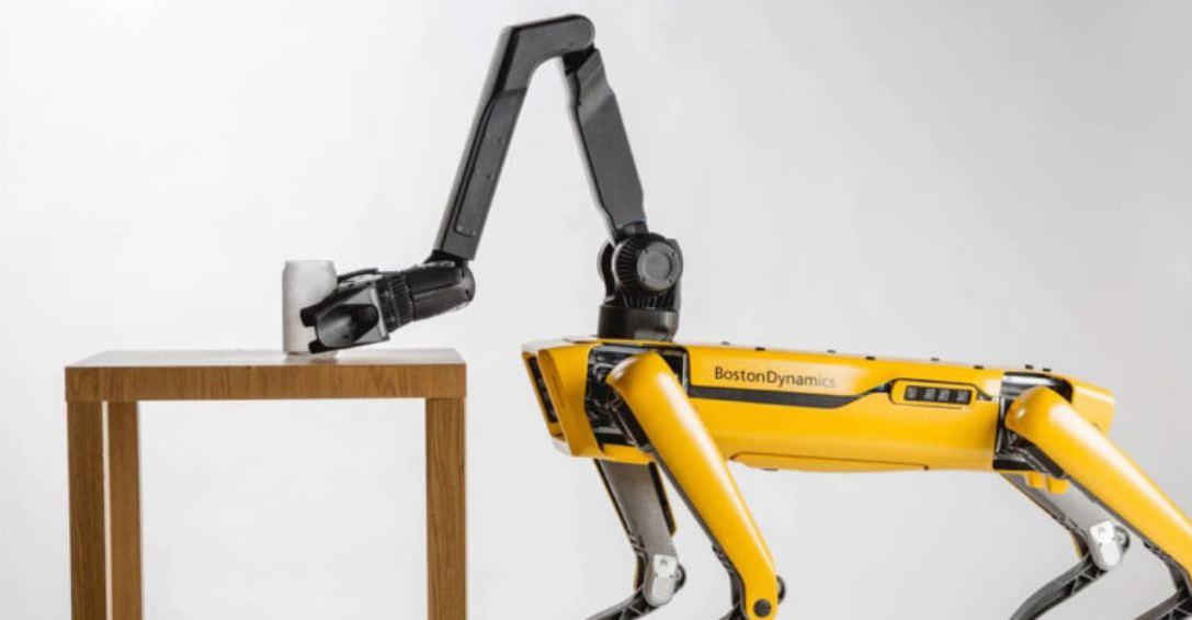 Los perros de Boston Dynamics ahora tendrán brazos