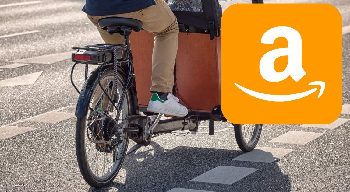 Amazon amplía la prueba de bicicletas eléctricas de carga a Europa