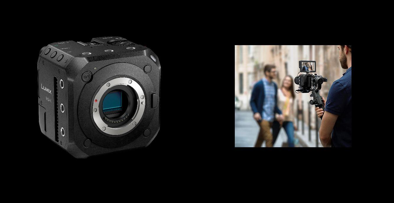 Lumix BGH1, la cámara cuadrada de Panasonic
