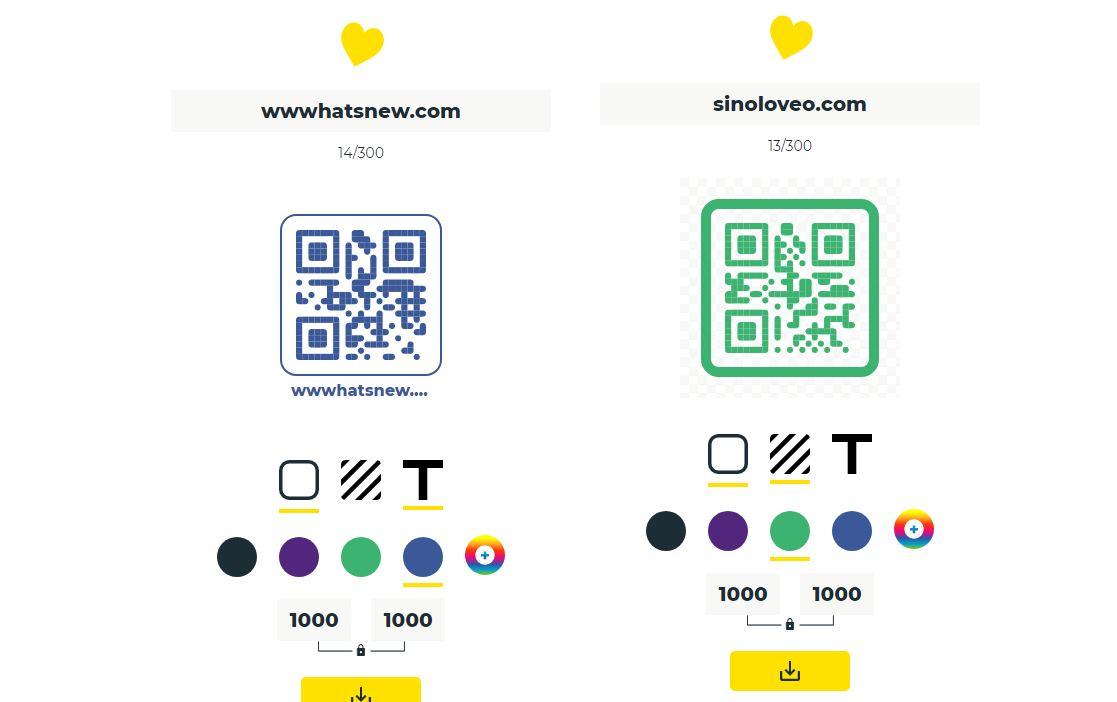 Nueva opción para crear un código QR, sin anuncios y con elegancia