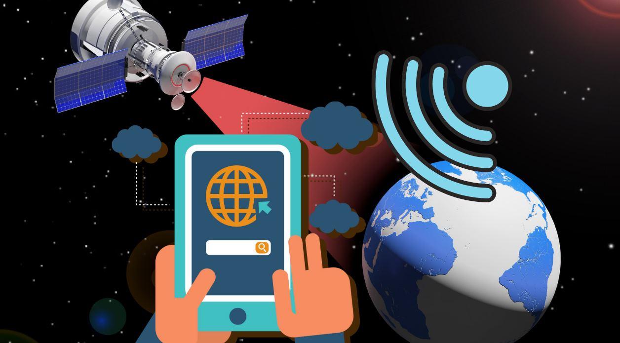 internet satélite