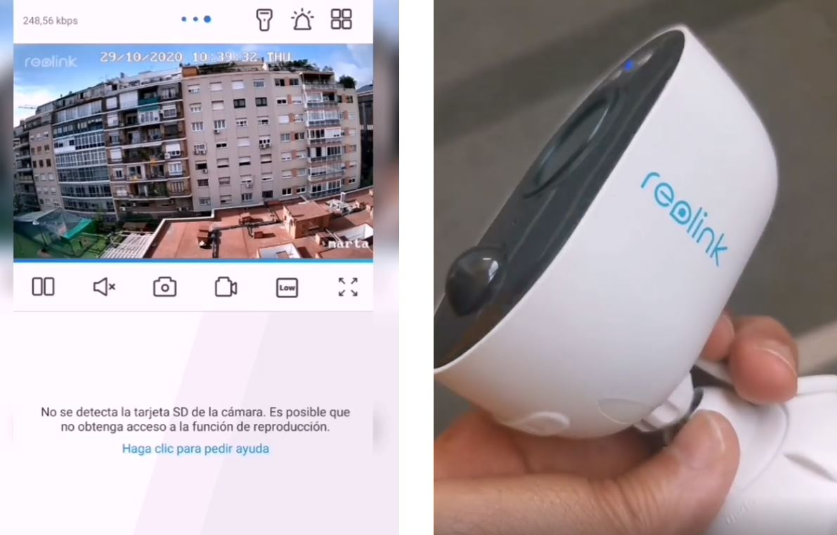 Reolink Lumus, cámara de seguridad con visión nocturna y WiFi