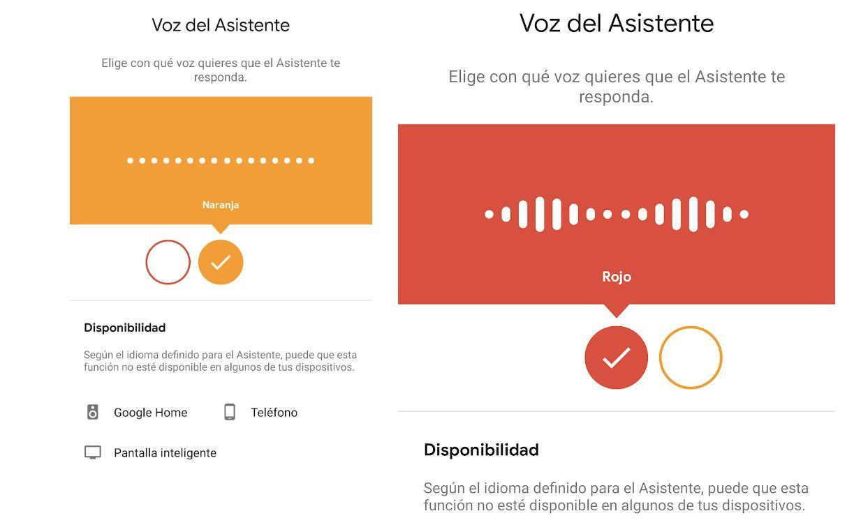 El asistente de Google ya permite elegir voz masculina o femenina