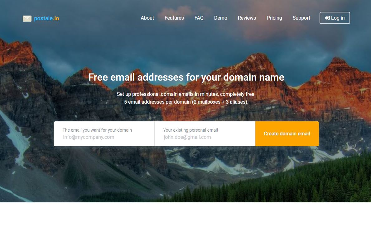 Crea cuentas de email con dominio propio de forma gratuita