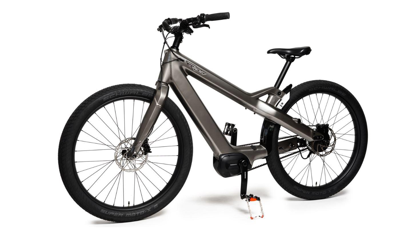 Nueva bicicleta eléctrica con bluetooth, 23 kg y 160 km de autonomía