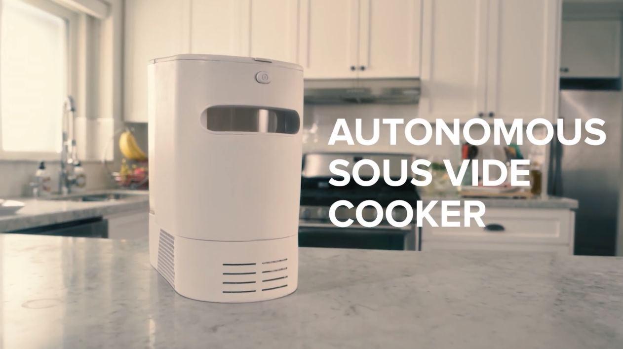 Figo, una nueva máquina para cocinar al vacío