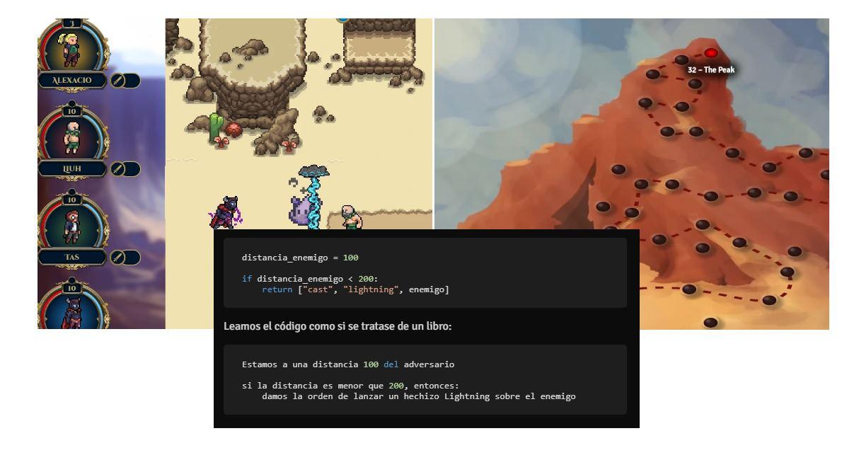 CodedArena, para aprender a programar jugando, tanto en la escuela como en casa