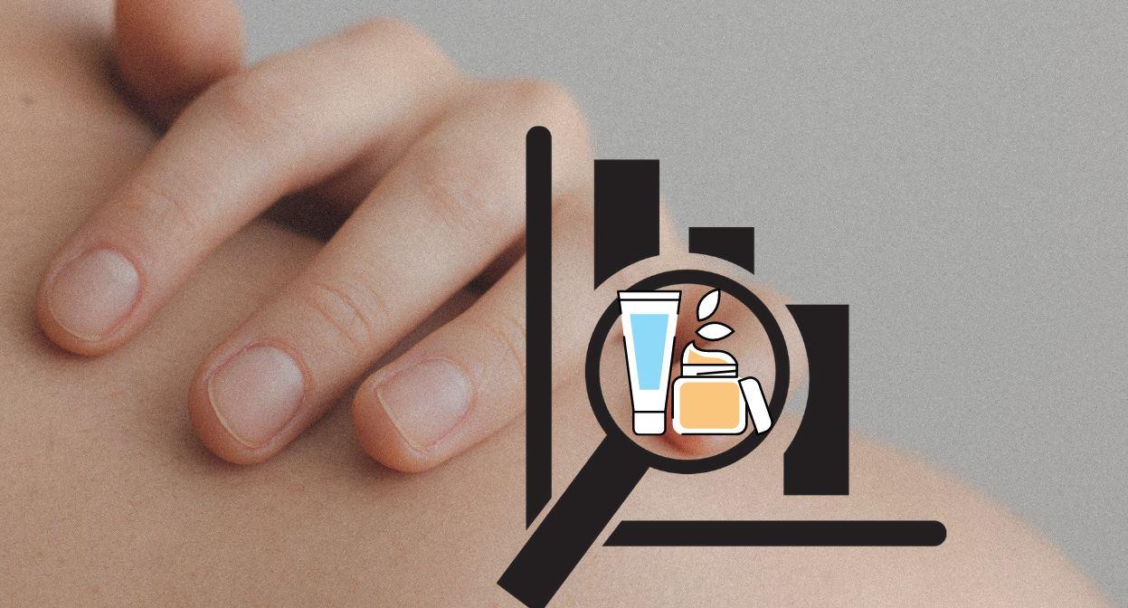 Para analizar los ingredientes de productos cosméticos