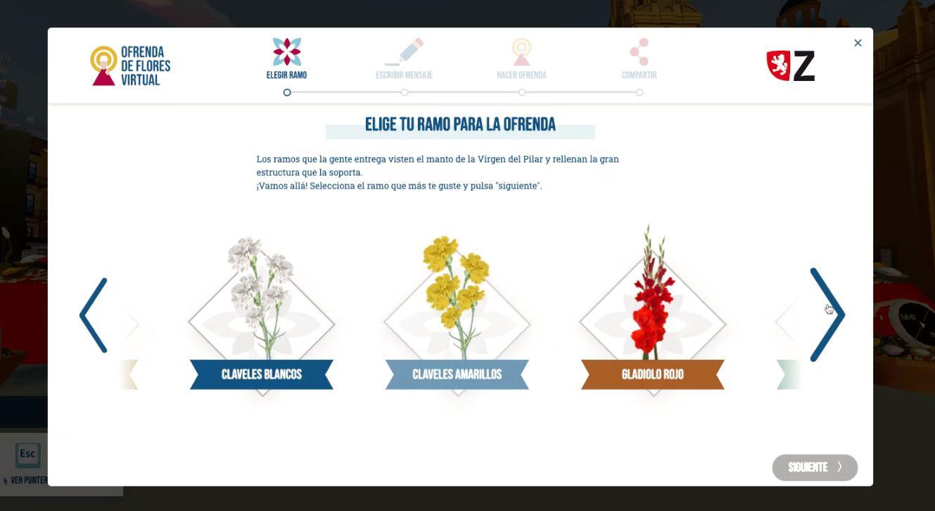 Ofrenda Virtual 3D de Zaragoza