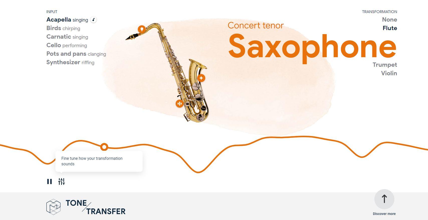 Para crear música con el nuevo experimento de Google
