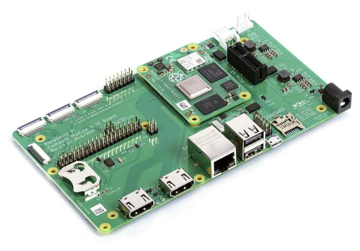 Nueva placa para el Compute Module 4