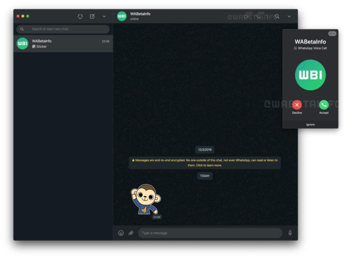 Así serán las llamadas y videollamadas en WhatsApp Web