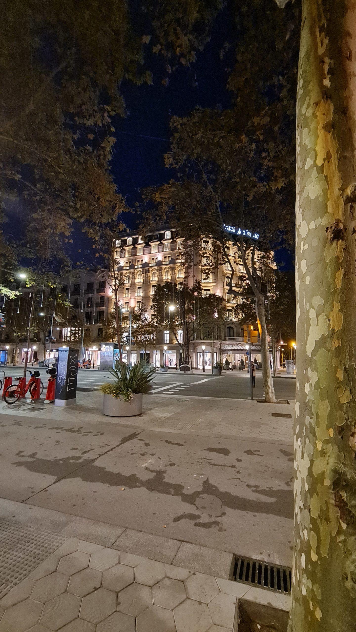 Foto nocturna Samsung Note20 Ultra 5G