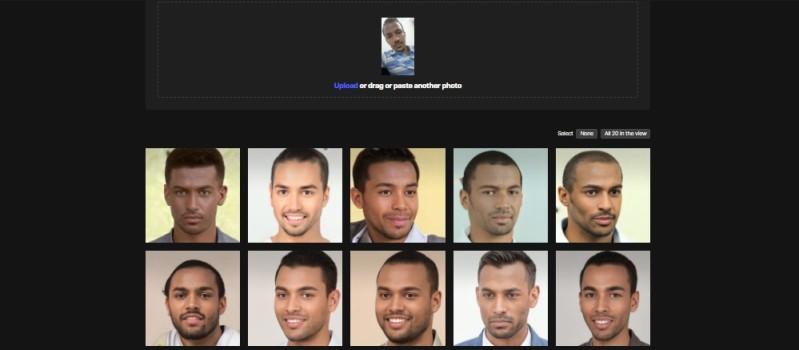 herramienta generadora de rostros virtualesAI Anonymizer