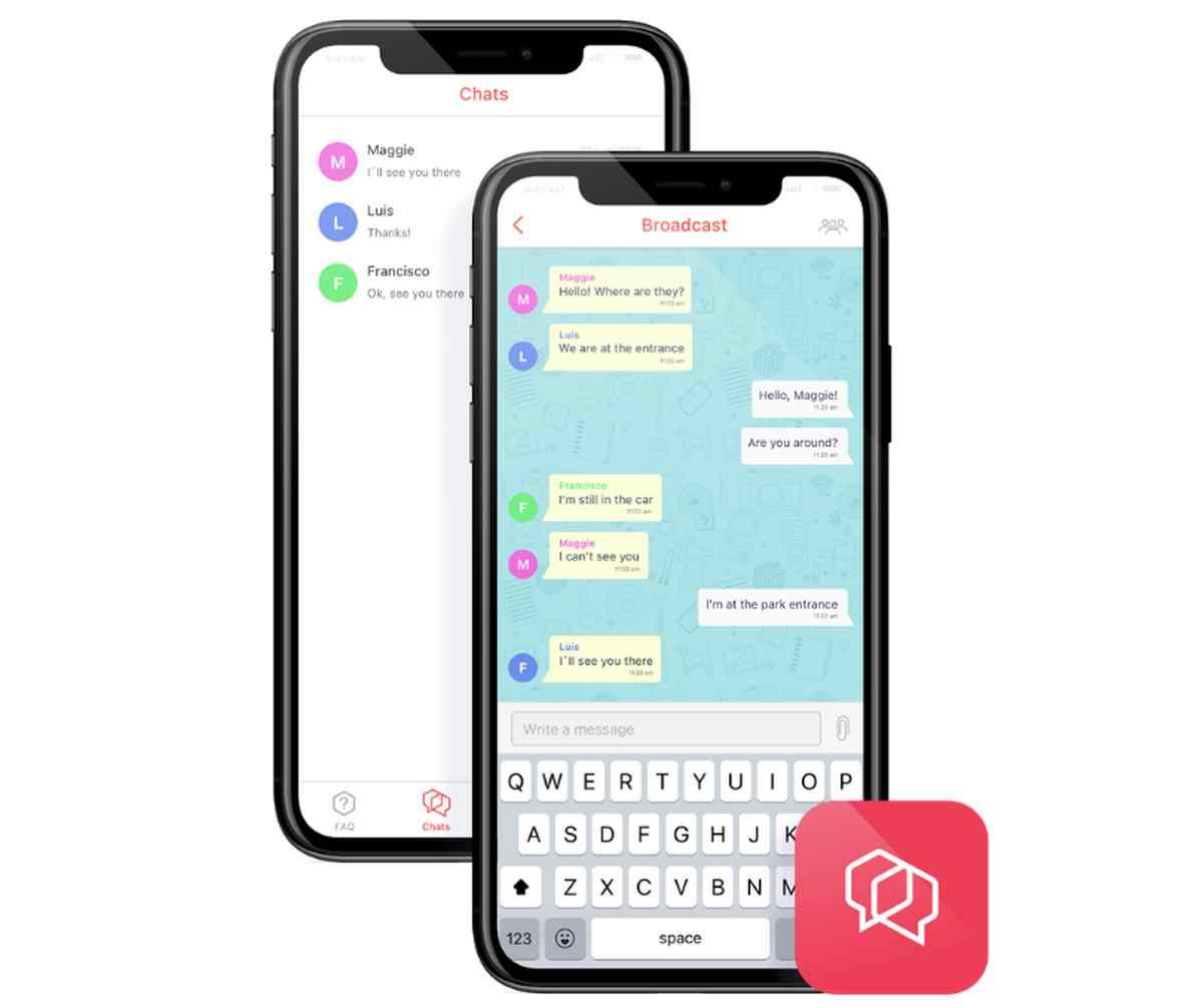 Llega el cifrado de extremo a extremo a Bridgefy, app de mensajería offline