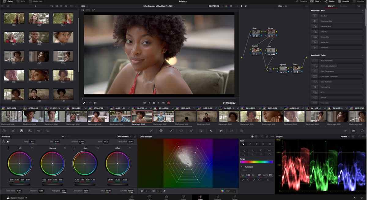 La suite de edición de vídeo de Blackmagic ya es compatible con Macs bajo ARM