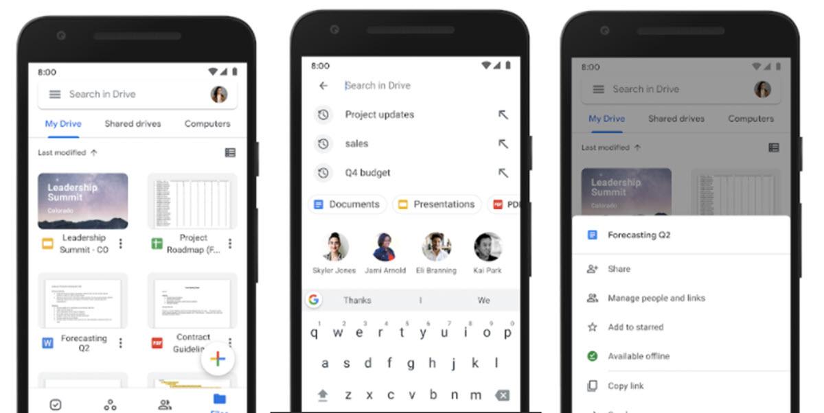 Google Drive permitirá cifrar documentos guardados en nuestro móvil