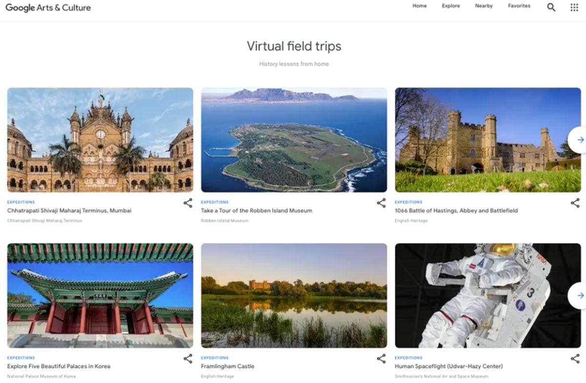 Google cierra su app Expediciones y lleva las excursiones virtuales a un nuevo destino