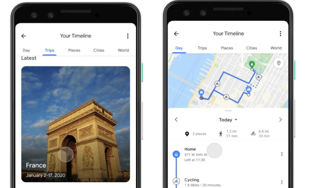 Google Maps y Fotos suman funciones para que recuerdes tus vacaciones pasadas