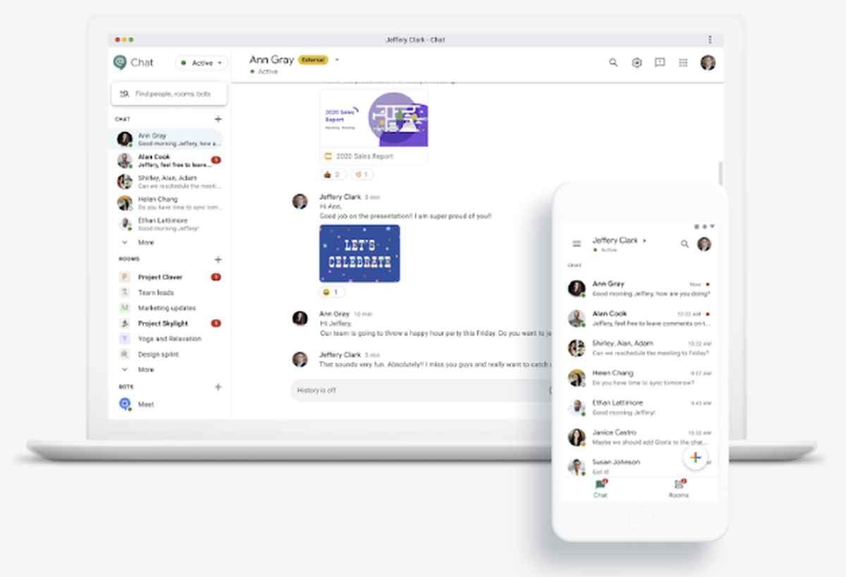 Estos son los siguientes pasos de Google para facilitar la migración a Google Chat