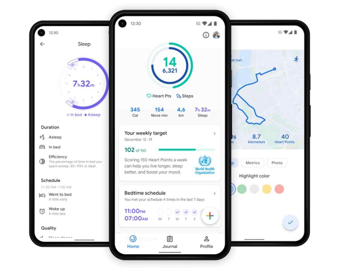 Google Fit recibe importantes mejoras junto a tres nuevos azulejos para Wear OS