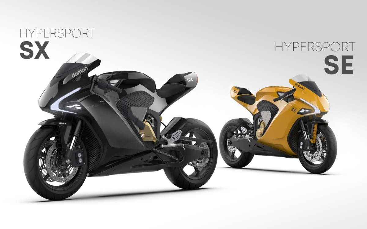 HyperSport SX y SE, dos motocicletas eléctricas deportivas construidas en una misma plataforma