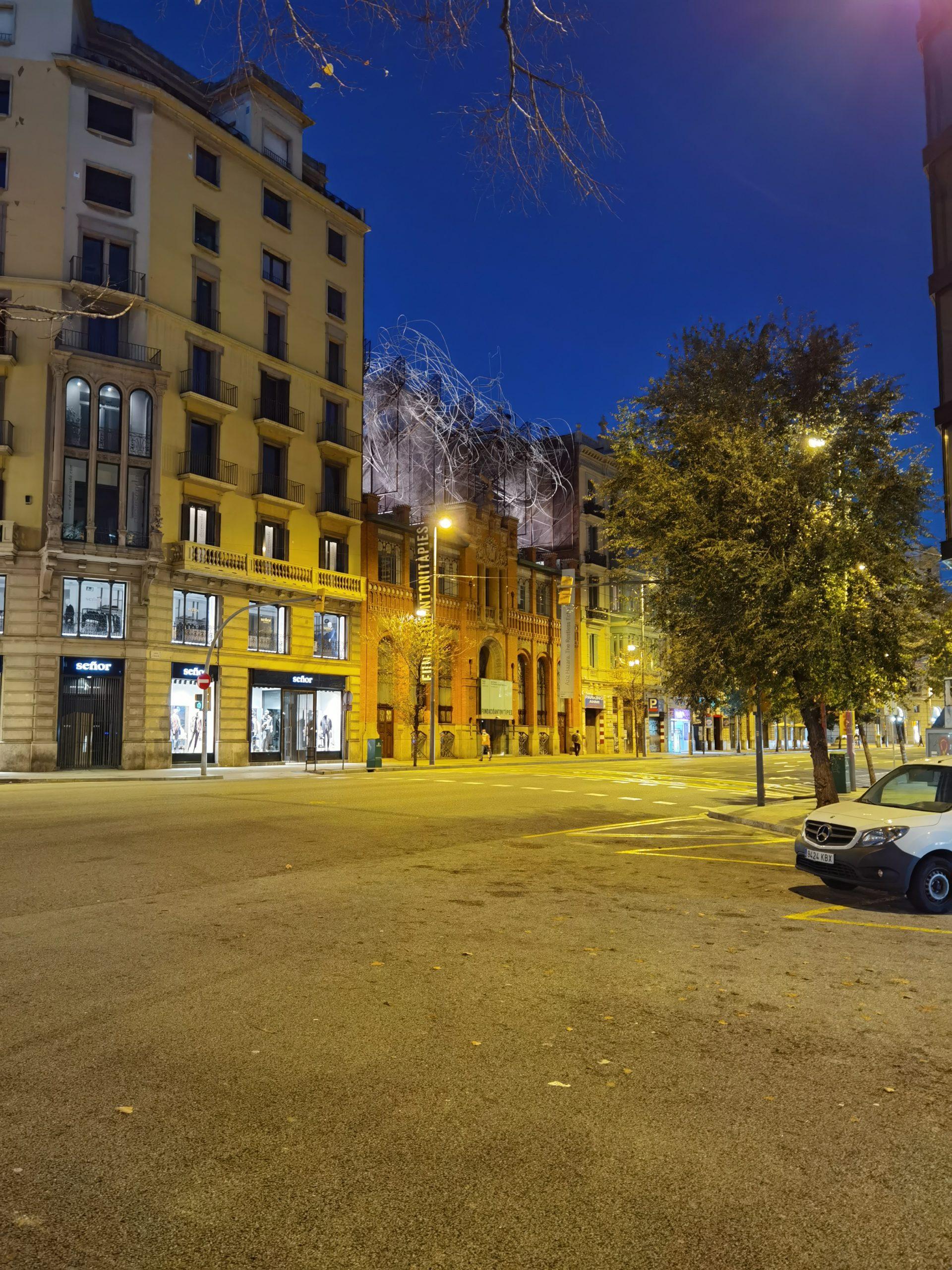 Foto nocturna Huawei P40 Pro