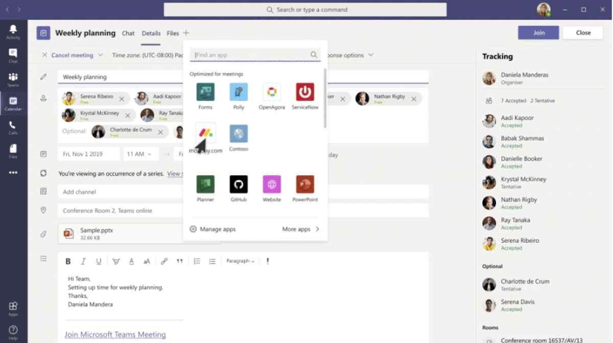 Integraciones en Microsoft Teams