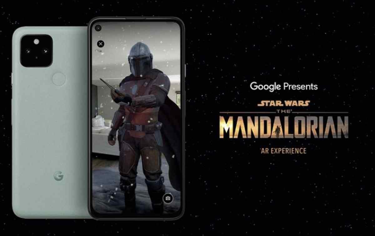 The Mandalorian en Realidad Aumentada, lo nuevo de Google para Android