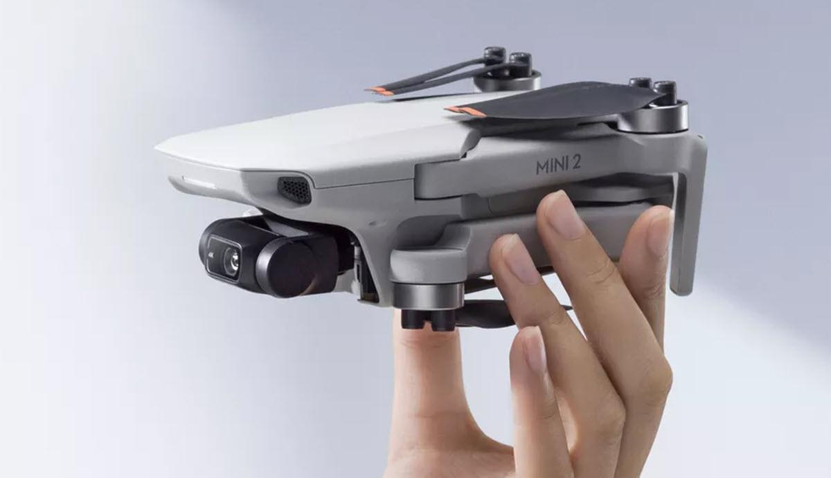 Así es el nuevo DJI Mini 2, un dron para principiantes con múltiples funciones de cámara y más potencia