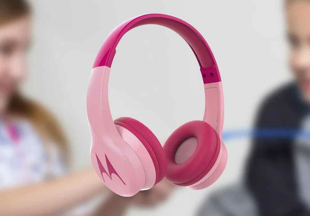 Así son los nuevos auriculares inalámbricos para niños de Motorola