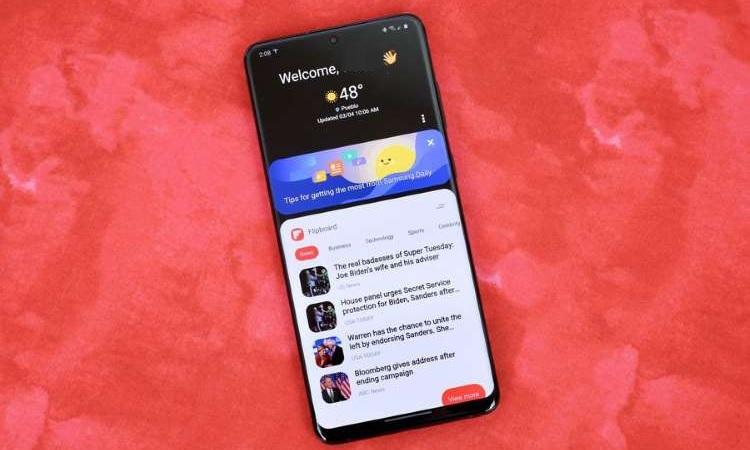 Samsung Daily imagen de MSN